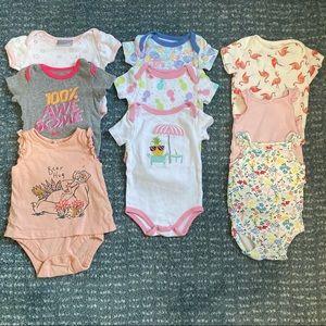 Baby Onesie Bundle (11 pieces)